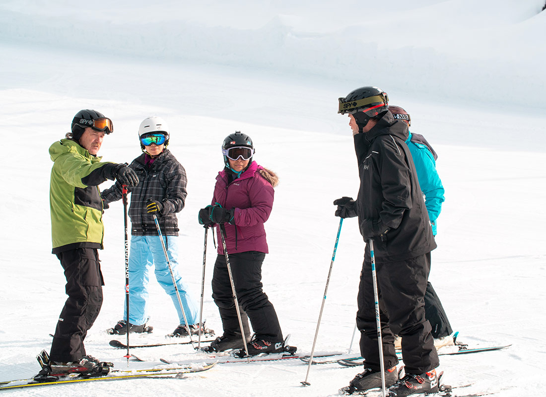 Group Lessons at Mount Washington