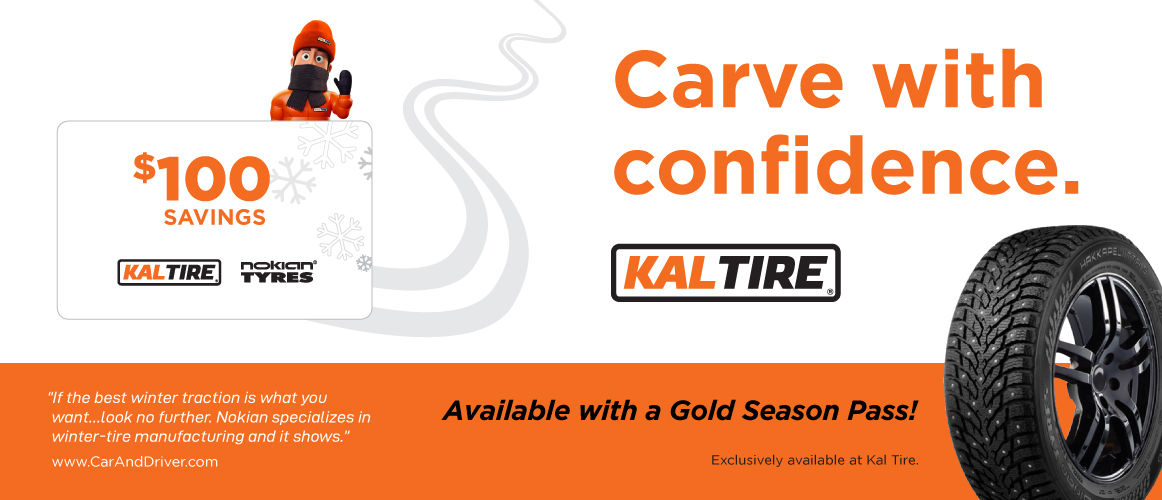 Kal Tire Carve With Confidence