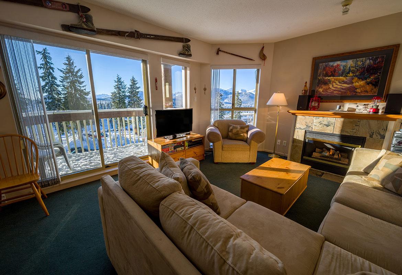 Slopeside Accommodations at  Mount Washington Alpine Resort