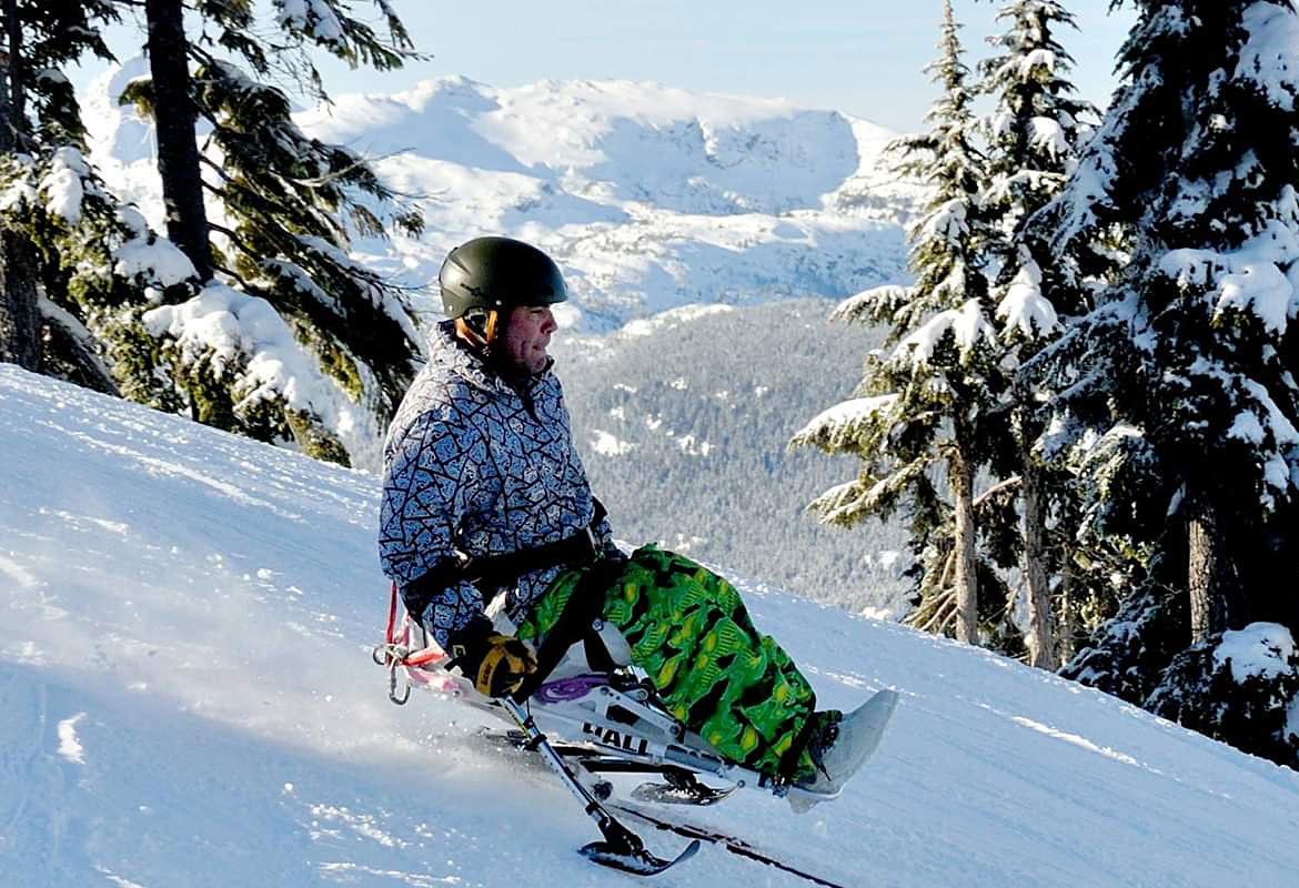Sit Ski at Mount Washington Alpine Resort