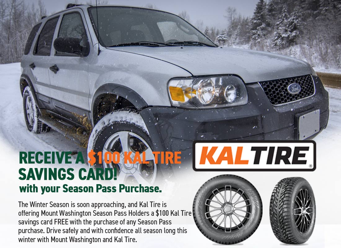 Kal Tire $100 Savings Card FREE