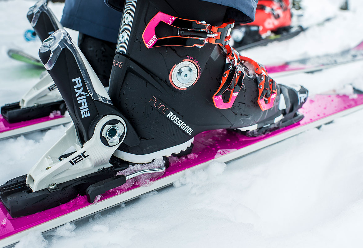 Custom Boot Fitting with The Boot Doctor at the Rossignol Demo Centre